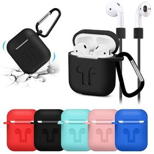 Silicone Apple AirPods Protective Case Cover